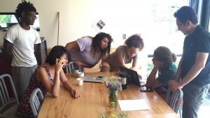 The 2016 Zilkha Center summer intern crew.
