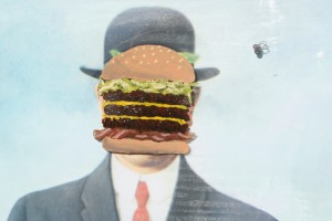 Robin Gimm: The Son of Man Prefers Triple Decker Bacon Cheeseburgers