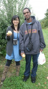 It's fall in the Berkshires: time for apple picking!
