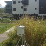 weather station at Env Ctr