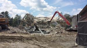 Old Sawyer demolition (Source: Mike Evans)